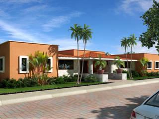 Casa en Playacar Fase 1 Casas tropicales de Segura Arquitectos Tropical