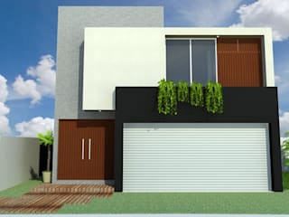 CASA PUNTA TIBURON L6-2 Casas modernas de GRUPO TEJAZ Moderno