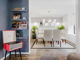 Scandinavian style dining room by Klover Scandinavian