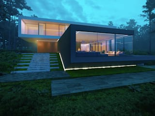 House in the forest 2.0:  в . Автор – ALEXANDER ZHIDKOV ARCHITECT