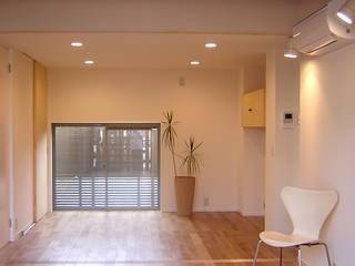 One On One 小さな住宅 アース・アーキテクツ一級建築士事務所 モダンデザインの ダイニング