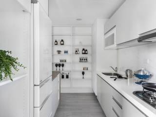 八號屋 寓子設計 Kitchen
