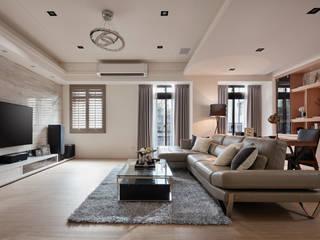 Moderne woonkamers van 星葉室內裝修有限公司 Modern