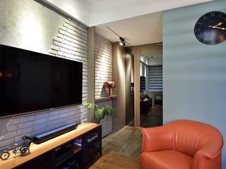 Industriële woonkamers van 星葉室內裝修有限公司 Industrieel