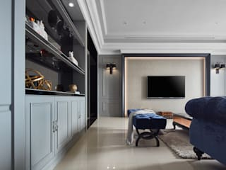 Klassieke woonkamers van 星葉室內裝修有限公司 Klassiek