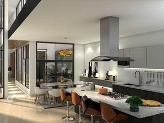 Modern kitchen by Uvsa Arquitectos Modern