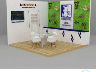 Decó ambientes a la medida Exhibition centres Multicolored