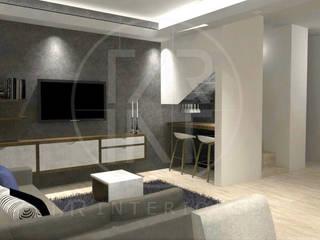 Sala multimedia: Salas multimedia de estilo moderno por TAR INTERIORES