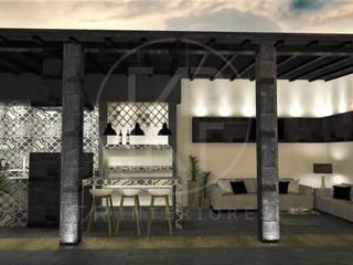 Deck 1 : Jardines de estilo moderno por TAR INTERIORES