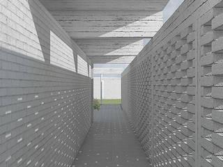 Galería de acceso: Pasillos y hall de entrada de estilo  por mutarestudio Arquitectura