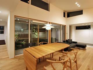 福久の家: 福田康紀建築計画が手掛けたダイニングです。