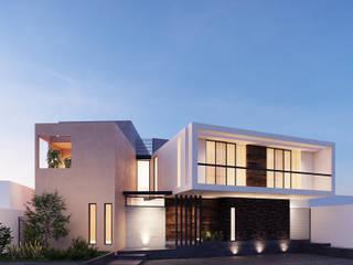 Casa AO: Casas de estilo moderno por CSR ARQUITECTURA