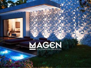 โดย MAGEN | Revestimentos Cimentícios โมเดิร์น