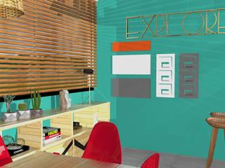 Agencia de viagens : Lojas e imóveis comerciais  por arqlar projeto personalizados e preços acessiveis,Tropical