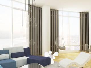 Grand Residence: Salas de estilo  por Studio ARI, Ecléctico