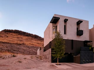 Casa Cumbres, Arquitectura de Materialista: Condominios de estilo  por Villalobos Image Maker