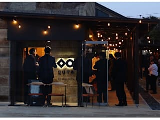 Galerías y espacios comerciales de estilo  por アーキテクチュアランドスケープ一級建築士事務所