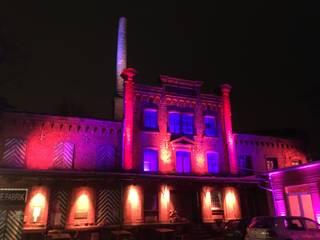 Luminale 2018, Die Fabrik leuchtet! Industriale Veranstaltungsorte von Lichtlandschaften Industrial