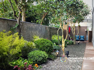 Classic style gardens by 大地工房景觀公司 Classic