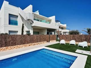 Apartamentos en La Dehesa de 2J Arquitectura Moderno
