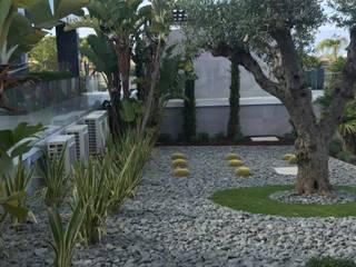 Rumah Minimalis Oleh ECOSSISTEMAS; Áreas Verdes e Sistemas de Rega. Minimalis