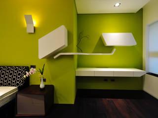 黃耀德建築師事務所 Adermark Design Studio Спальня