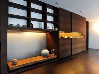 黃耀德建築師事務所 Adermark Design Studio Ruang Studi/Kantor Minimalis