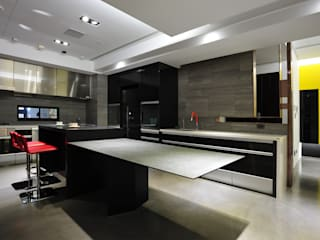 黃耀德建築師事務所 Adermark Design Studio Dapur Minimalis