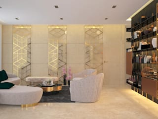 Moderne Wohnzimmer von Urbane Storey Modern