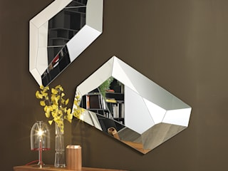 Diamond Mirror:   by IQ Furniture