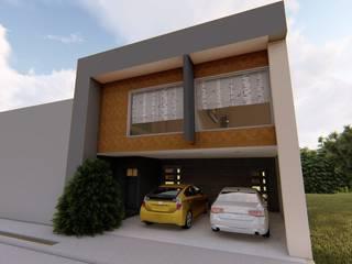 CASA ARBOLEDAS-MONTES DE OCA: Casas de estilo  por RUBIO + TOVAR ARQUITECTOS