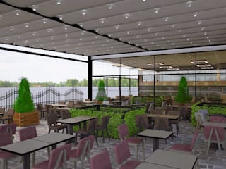 Mekgrup İç Mimari ve Dekorasyon – Zeynel renovasyon :  tarz Bar & kulüpler