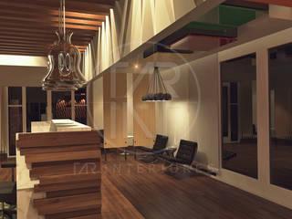 Lobby 2: Pasillos y recibidores de estilo  por TAR INTERIORES