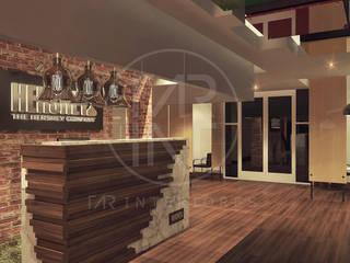 Lobby 3: Pasillos y recibidores de estilo  por TAR INTERIORES