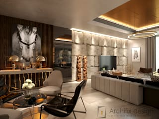 Modern living room by Archifix Design Modern