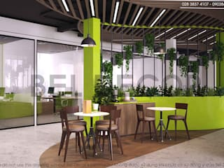 THIẾT KẾ NỘI THẤT CO-WORKING (PR1739) - Bel Decor:   by Bel Decor
