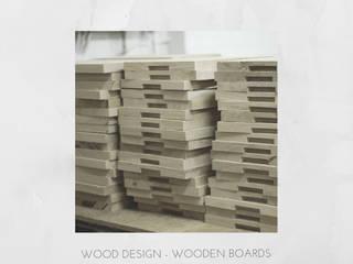 Deski drewniane do serwowania: styl , w kategorii  zaprojektowany przez Salvador Wood Design Sp. z o.o.