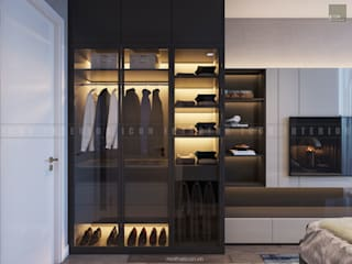 Modern dressing room by ICON INTERIOR Modern
