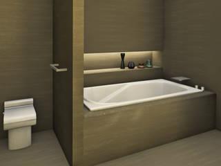 HOTEL BATHROOM: Bagno in stile  di Studio Maiden