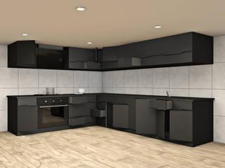 KITCHEN SYSTEM : Cucina attrezzata in stile  di Studio Maiden