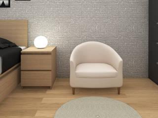 MARONIE HITZ : Camera da letto in stile  di Studio Maiden