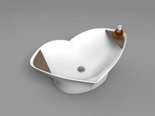 LIFE WASHBASINS: Bagno in stile  di Studio Maiden