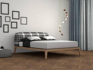 JOANIE BED:  in stile  di Studio Maiden