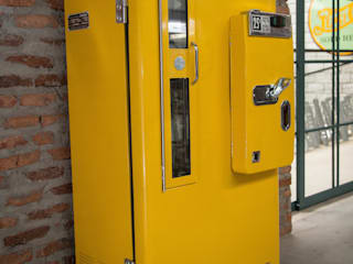 OldLook Office spaces & stores Metal Yellow