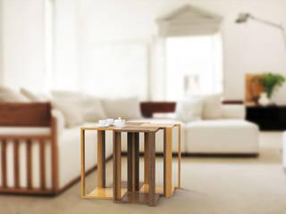 WOODEN TABLES:  in stile  di Studio Maiden