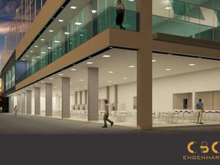 Espaço Multiuso Clube Recreativo Dom Pedro II Bares e clubes modernos por CBC Engenharia Moderno