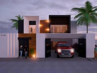 "Proyecto residencial ""2L"" de ARQUITECTOS AJ Moderno"