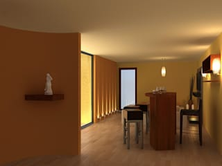 Interiorismo 1:  de estilo  por INTERIORISIMO