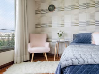 Scandinavian style bedroom by Klover Scandinavian
