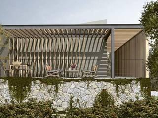 Casa Valle de C_arquitectos Moderno